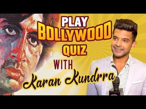 Play Bollywood Quiz With Karan Kundrra   Guess The