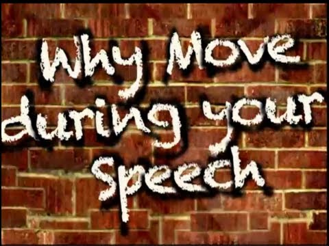 Why Move During Your Speech (3 reasons)