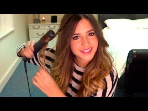 como hacer crespos - Mi Blog: www.tasteofstyle.net Hola chicas! Hoy os enseño cómo me hago ondas naturales con la plancha (GHD). Este peinado me suele durar varios días, intento ...
