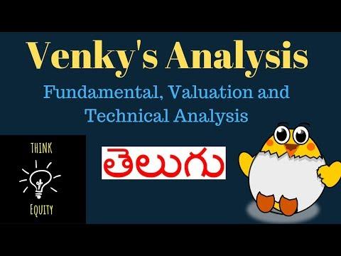 Venky's Analysis - Fundamental, Valuation and Technical Analysis-  Stock Market Telugu