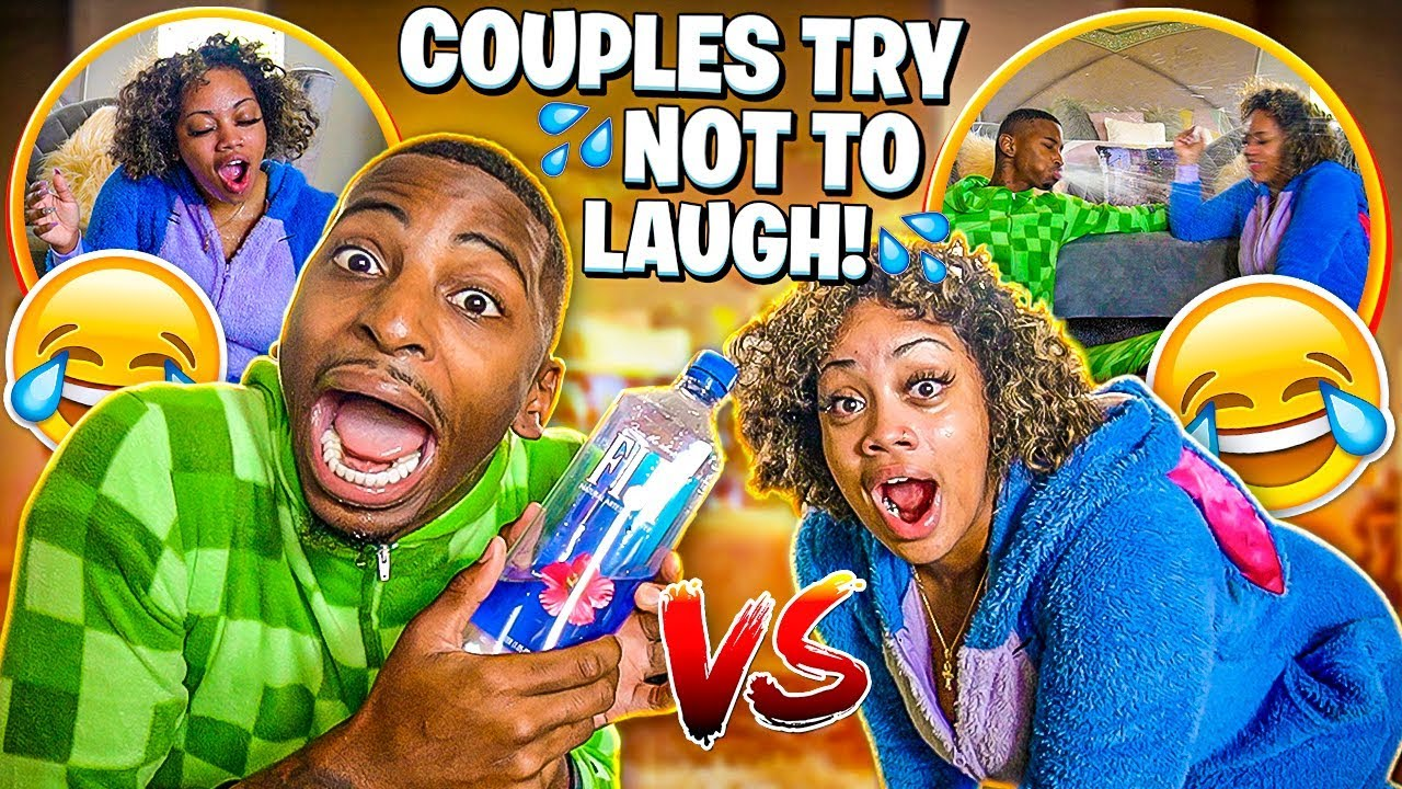 COUPLES TRY NOT TO LAUGH😂  WATER EDITION💦  HILARIOUS - YouTube
