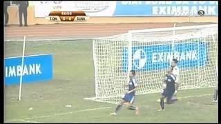 V-League 2014 Than Quang Ninh 0-1 Sông Lam Nghệ An Highlights Vòng 1