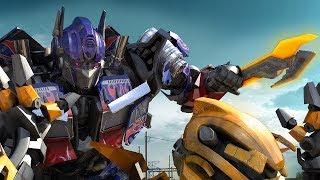 Bumblebee VS Optimus Prime - Transformers