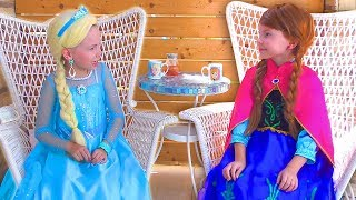 Video Frozen Elsa And Anna In Real Life Funny video Compilation by kids smile tv MP3, 3GP, MP4, WEBM, AVI, FLV Agustus 2018