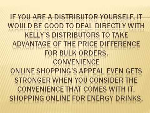 Benefits of Buying Energy Drinks Online