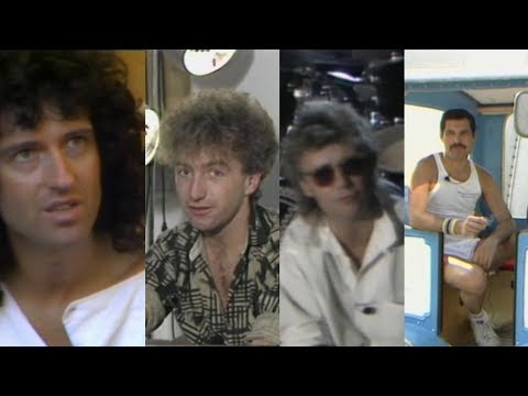Queen Interview for French TV (1984) - REUPLOADED