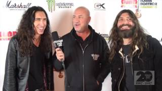 http://www.vintagerock.com - Vintage Rock's Junkman talks with guitarist Brent Woods (Sebastain Bach) and bassist Michael Devin (Whitesnake) on Saturday,, January 21 at the Ronnie Montrose Remembered concert in Santa Ana, CA. Captured and edited by Mike Thoman