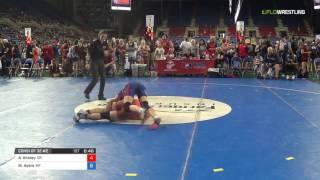 Junior WM 117 Consi of 32 #2 - Alissa Kinney (OR) vs. Morgan Ayers (MT)