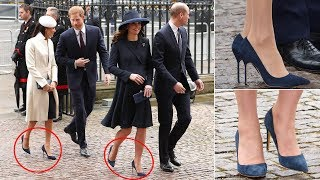 Video Meghan and Kate's shoes are noticed something strange at the Commonwealth Day service MP3, 3GP, MP4, WEBM, AVI, FLV Maret 2018