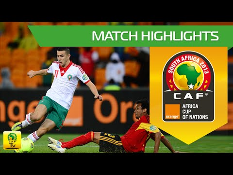 Angola - Maroc   CAN Orange 2013   19.01.2013