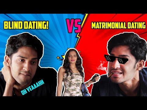 BLIND DATING VS MATRIMONIAL DATING😂😂 ⚫ FUNNY VIDEO⚫THUGESH