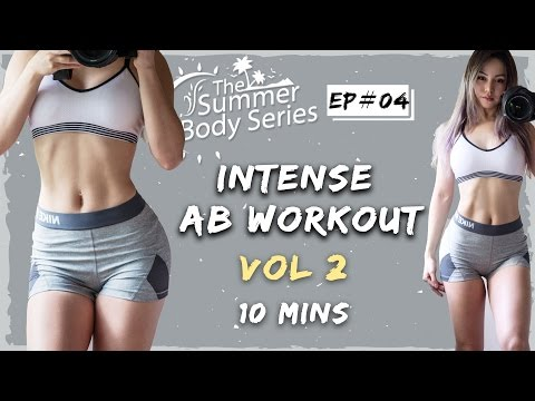 강렬한 복부운동 - 10분 운동