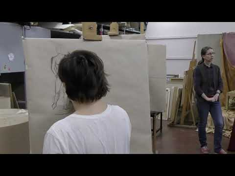 Кузьмин Р.А. Методика преподавания дисциплины Краткосрочный композиционный рисунок для глухих студентов