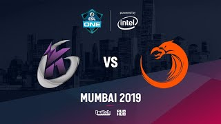 Keen Gaming vs TnC, ESL One Mumbai 2019, bo3, game 1 [NS & Godhunt]