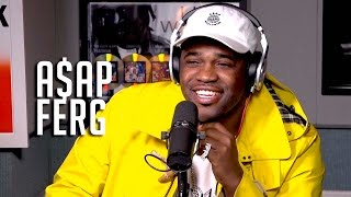 Hot 97 - A$AP Ferg Talks Kanye Showing Love, Lack of Album Support + Getting Better!