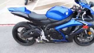 10. 2007 Suzuki GSXR 600, Scratch & Dent special, Two brothers exhaust