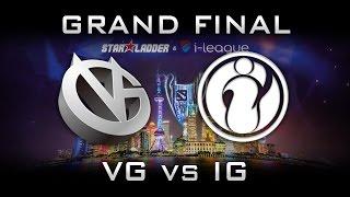 IG vs VG Starladder Highlights Final SL i-league 2017 CN Dota 2 - Vici VG vs IG Invictus Gaming Starladder SL i-league...