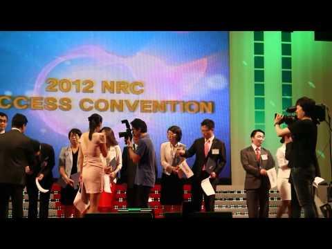 NRC - 앤알커뮤니케이션이 지난 9일 올림픽체조경기장에서 2012 석세스 컨벤션을 개최하고 향후 비전을 발표했습니다. 루비, 에메랄드, 다이아몬드, 블루 다이아몬드 등 많은 직급자들이...