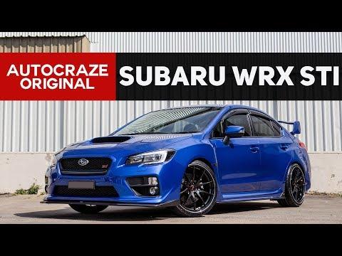 ☄️ ROWDY REX ☄️// Subaru WRX STI Wheels and Tyres - Rays Wheels | AutoCraze 2017