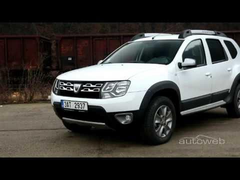 Autoweb.cz: Dacia Duster 1.5 dCi 4×4 109 k (2014) – videotest