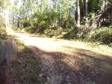Pista da trilha do 8 em Itaara - RS