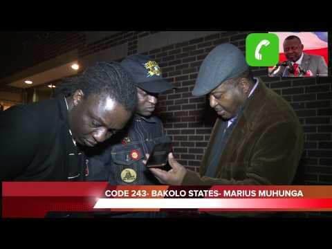 Kamerhe et Muyambo S�questr�s par la police au si�