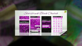 Pink Leopard Go SMS Star Theme YouTube video