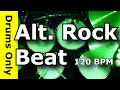 Alternative Rock Drum Beat 120 BPM