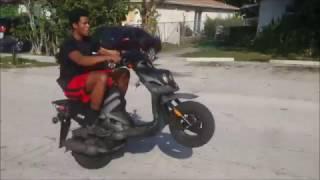 4. 2 stroke genuine roughhouse sleeper/scooter