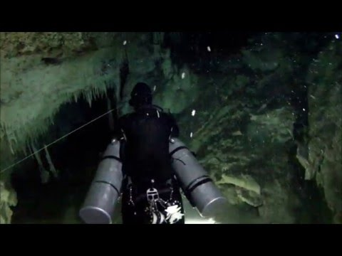 Sidemount Cave Diving in Mexico