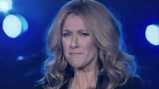 Celine Dion is crying (singing My Love) LIVE !