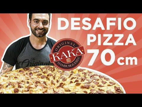 Desafio #39 - Pizza gigante ~4kg [+ AÇÃO SOCIAL e doação de pizza]
