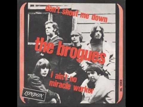 "BROGUES ""DON'T SHOOT ME DOWN'"" ORIG IT 1966 RARE PRE QUICKSILVER M-"