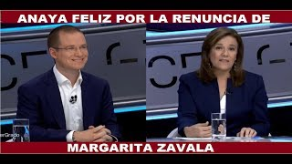 Video ANAYA FELIZ POR LA RENUNCIA DE MARGARITA ZAVALA MP3, 3GP, MP4, WEBM, AVI, FLV Mei 2018