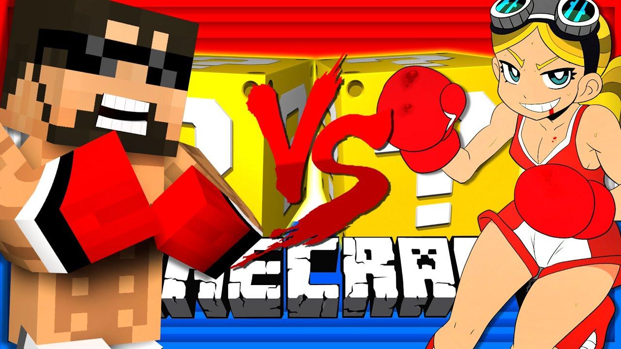 Minecraft | BOXING LUCKY BLOCK CHALLENGE | Muhammad Ali VS Lel