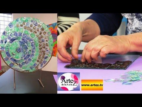 Mira cómo reciclar CDs para hacer venecitas o azulejos