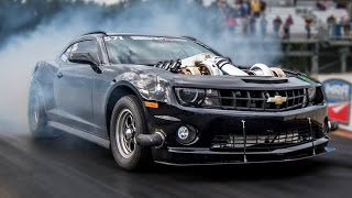 TWIN TURBO 427 LSX Camaro - 7.80 @ 177mph! by 1320Video