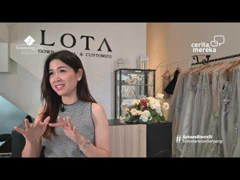 CERITA MEREKA Versi LOTA, Custom & Gown Rental di Ruko Beryl Summarecon Serpong