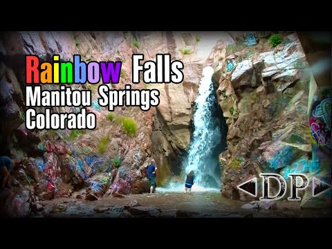 Rainbow Falls AKA Grafitti Falls - Manitou Springs, Colorado
