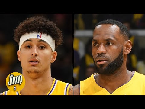 Is Kyle Kuzma a questionable fit with LeBron James and Anthony Davis on the Lakers? | The Jump