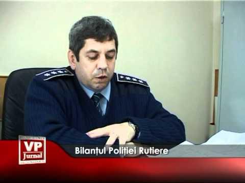 Bilanţul Poliţiei Rutiere
