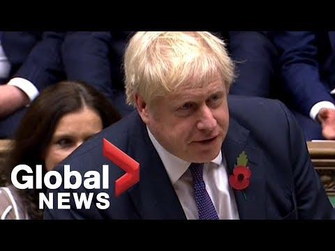 British PM Boris Johnson agrees to Brexit extension