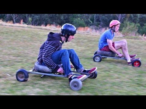 Karting colina abajo