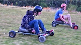 Kurrajong Australia  city photos : Grass Kart Racing - Crazy Speeds