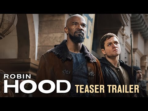 The First Trailer for Robin Hood