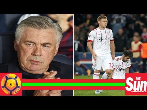 Carlo ancelotti set to be axed by bayern munich today after shocking start to the season