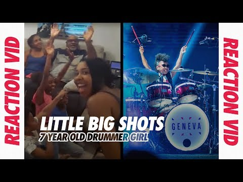 "Drummer Girl Geneva London Plays ""In The Air Tonight"" 