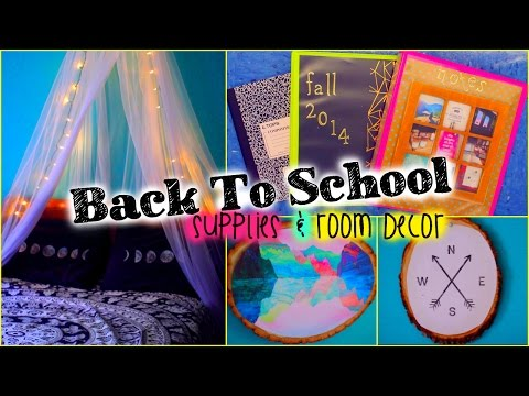 Back to school diy supplies room decor vidinfo for Room decoration products