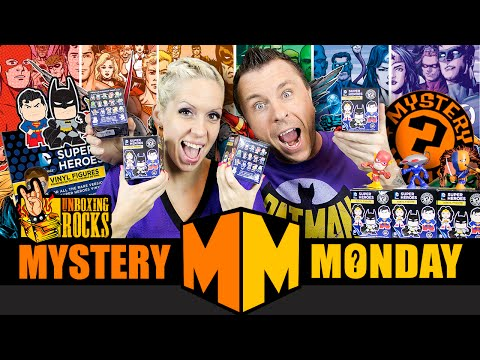 Mystery Monday Episode 11: Weekly GIVEAWAY And Funko Mystery Minis (DC Super Heroes)