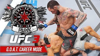 UFC 3 Career Mode - Ep 8 - PUNK vs DIAZ!! #1 CONTENDER!! (CM Punk GOAT Career #8)
